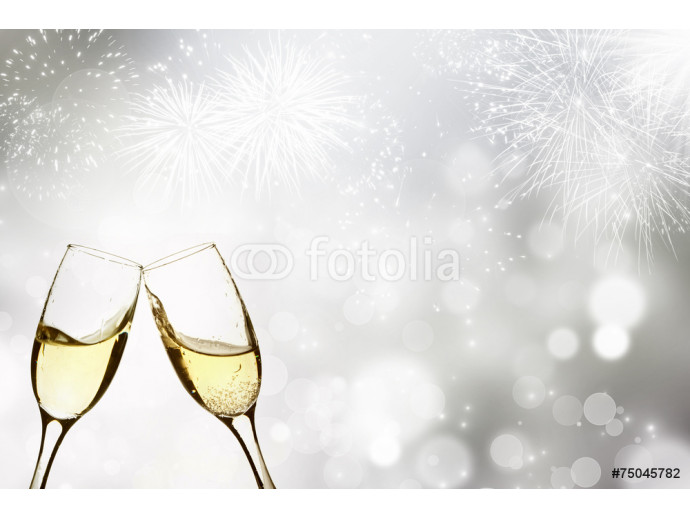 Celebrating with champagne 64238