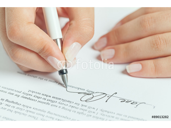 business contract signing 64238