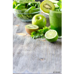 Healthy green smoothie beverage with spinach and celery copy spa 64238