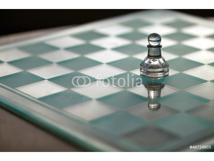 Pawn, chess piece - series: concept - small business growth, 64238