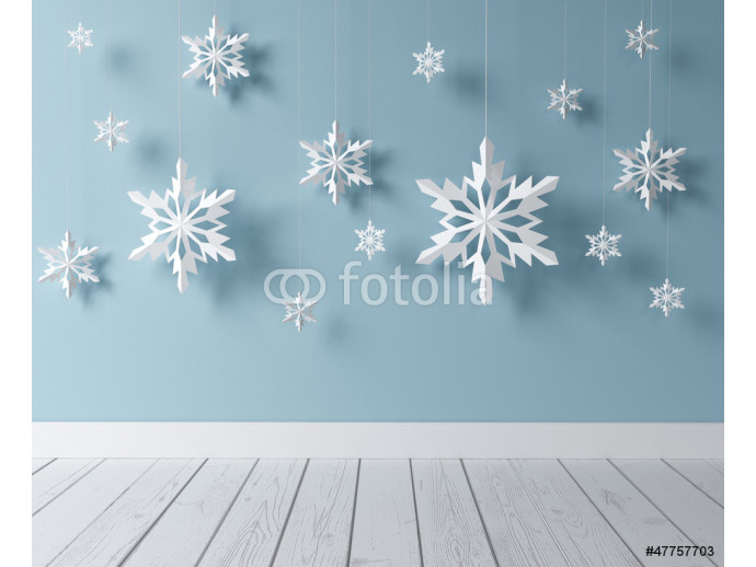 snowflakes in room 64238