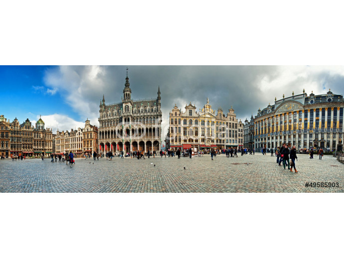 Grand Place or Grote Markt in Brussels. Belgium 64238
