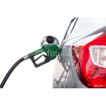 Pumping gas isolated white background with clipping path 64238