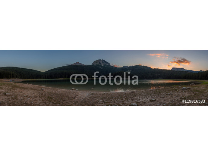 Mountain landscape in National Park Durmitor, Montenegro 64238