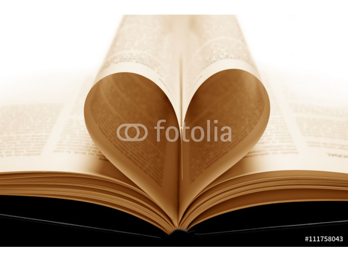 loving book with yellowish pages 64238