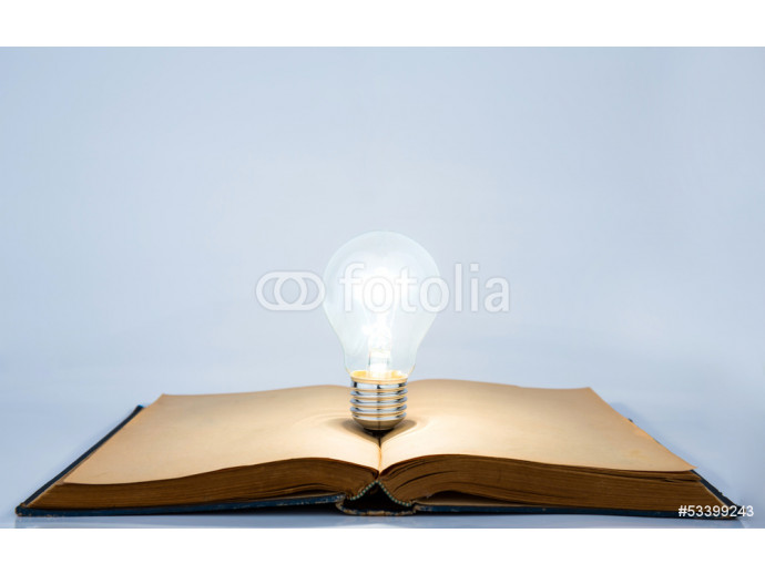 Book and light bulb 64238