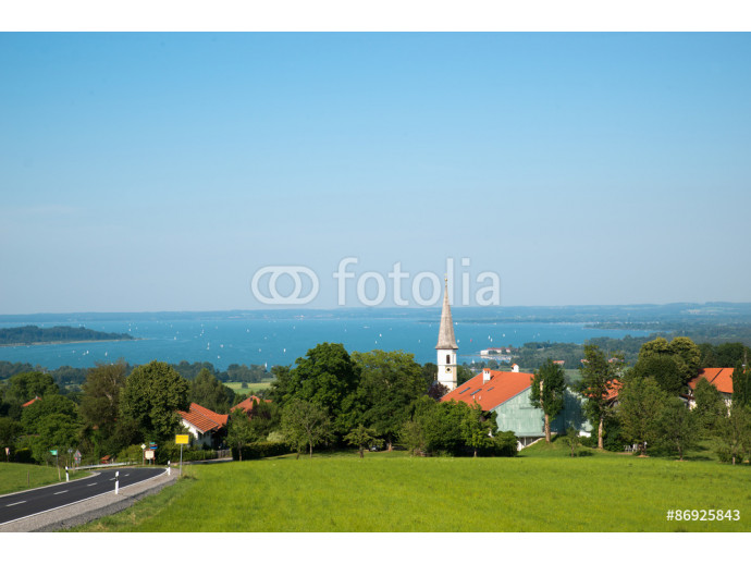 Chiemsee, small lake in Germany near Austria 64238