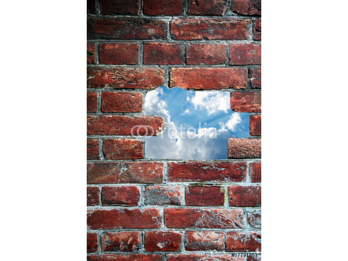Abstact sky in wall 64238