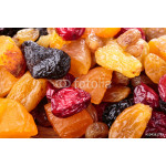 Assorted dried fruit and berries as a background 64238