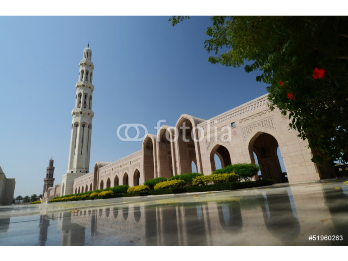 Muscat - Oman, Entry of Sultan Qaboos Grand Mosque 64238