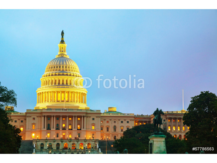 United States Capitol building in Washington, DC 64238