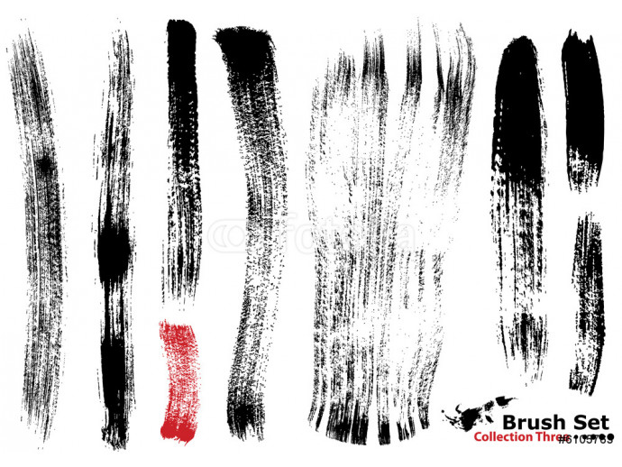 Collection of highly detailed vector brushes - 3 64238