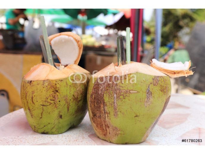 Two Fresh coconut 64238