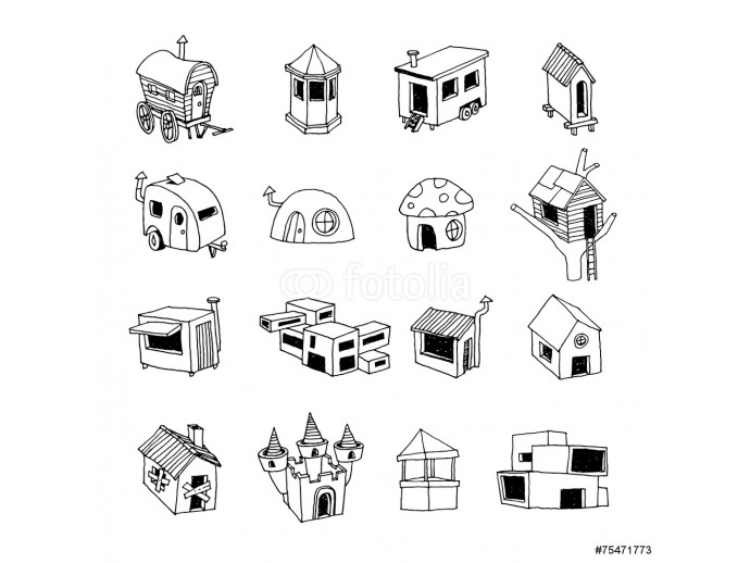 House icon, vector illustration. 64238