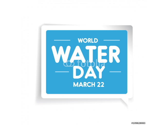 World water day vector 64238