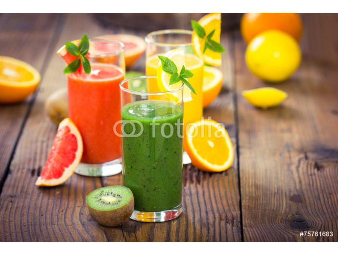 Healthy fruits smoothies 64238