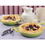 sweet breakfast with mini cherry tarts 64238