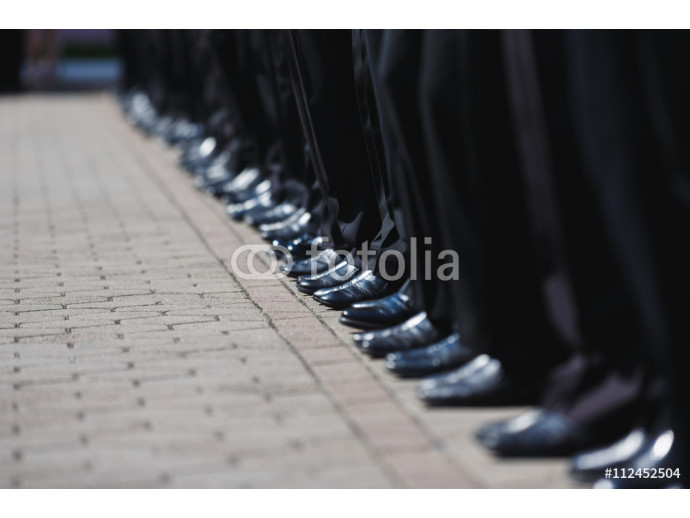 Boot row of cadets 64238