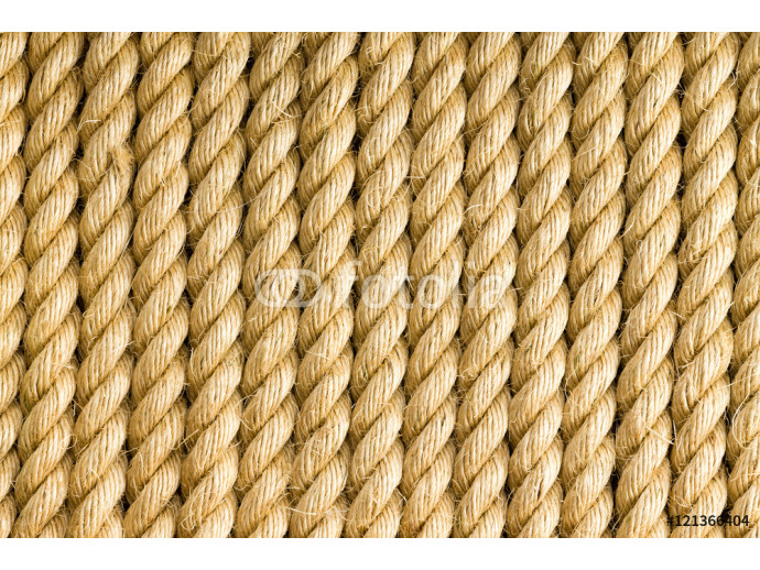 Vertical strands of rope as background 64238