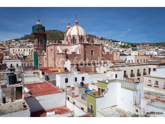 4c4c14cb0639 Fotomural decorativo Colonial city Zacatecas, Mexico