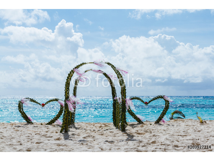 Decoration for wedding in the Caribbean 64238