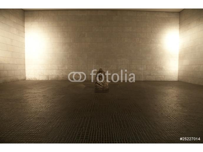The Interior of the Neue Wache (Memorial to all War Victims) - B 64238