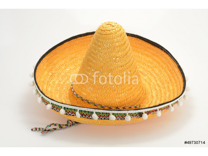 Mexican Straw Hat, Sombrero 64238