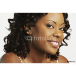 Close up of African woman smiling 64238