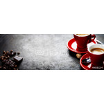 Coffee Espresso. Red Cups Of Coffee 64238