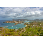 View of English Harbor in Antigua from Shirley Heights 64238