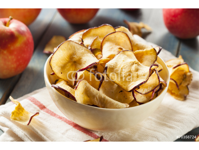Baked Dehydrated Apples Chips 64238