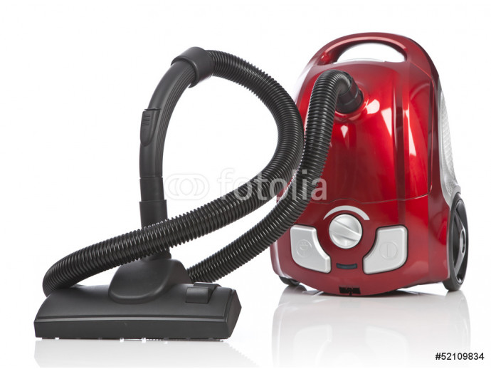 Vacuum cleaner isolated on white background 64238