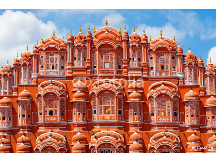 Hawa Mahal palace (Palace of the Winds) in Jaipur, Rajasthan 64238