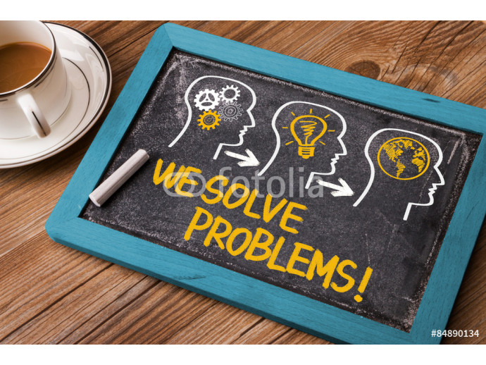 Wallpaper we solve problems 64238