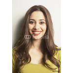 Close up of young Hispanic woman smiling 64238
