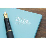 Still Life Of 2014 Diary With Fountain Pen 64238