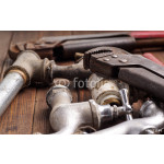 Working tools, plumbing, pipes and faucets 64238