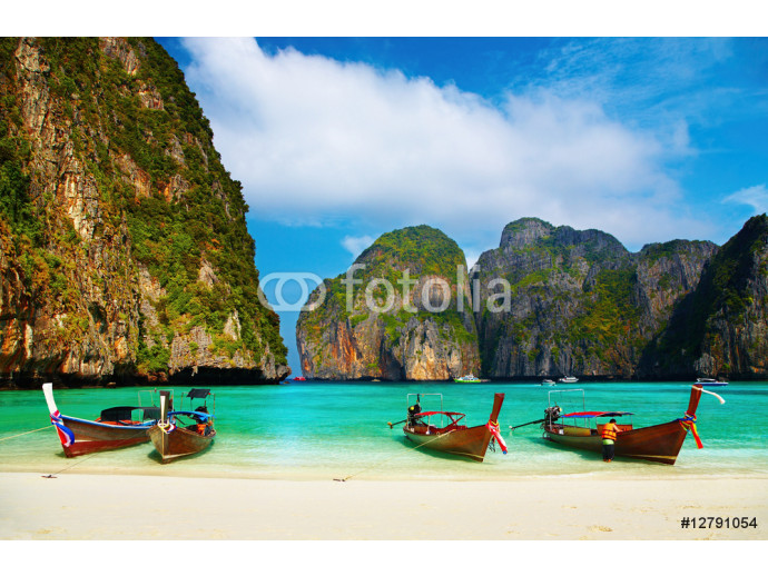 Tropical beach, Maya Bay, Thailand 64238