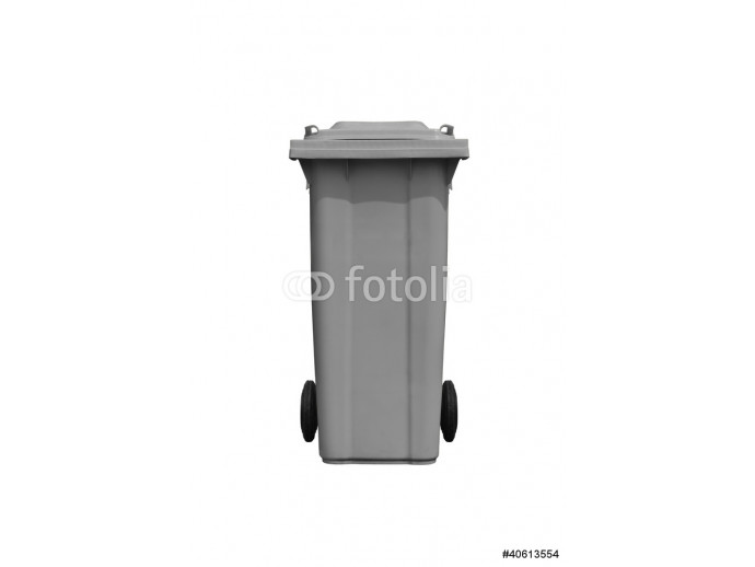 Large gray trash can 64238