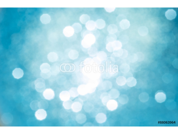 Abstract Christmas bokeh defocused silver and golden lights 64238