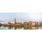 Wroclaw old city panorama 64238