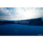split underwater and sky background 64238