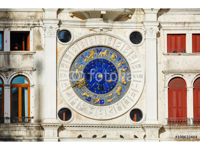 Astrological clock at Torre dell'Orologio in Venice 64238