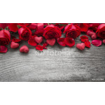 Roses on wooden board 64238