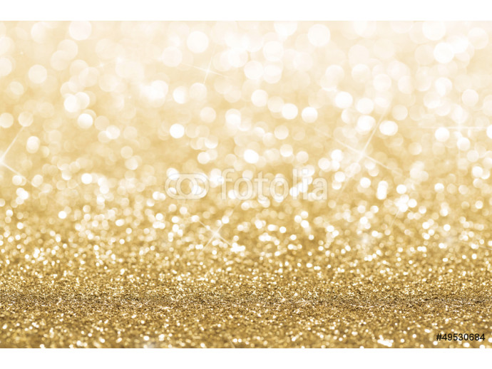 Gold defocused glitter background with copy space 64238