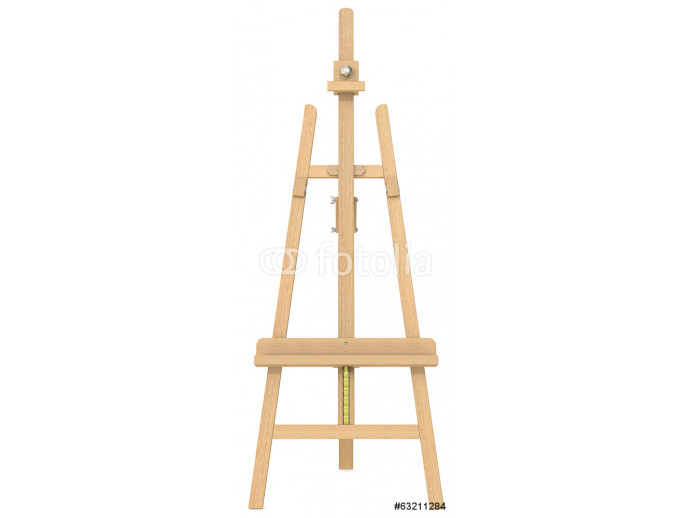 Easel.Front view of an Easel. 64238