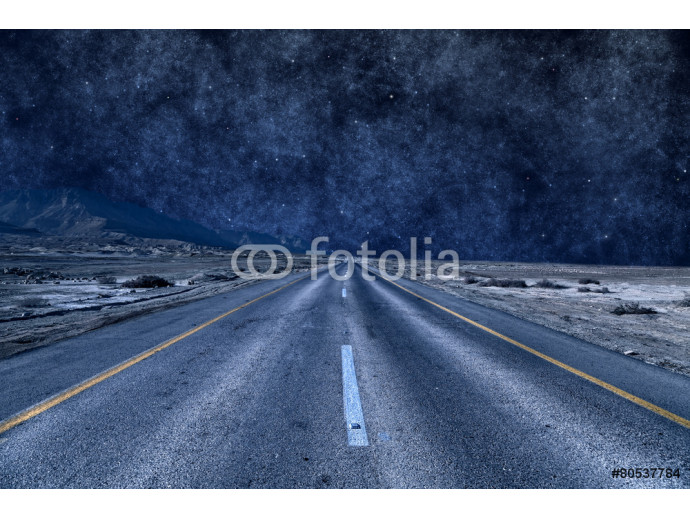 road under the stars 64238