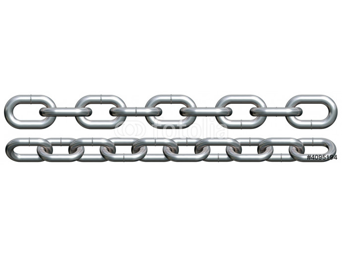Fotomural decorativo Chain pieces 64238