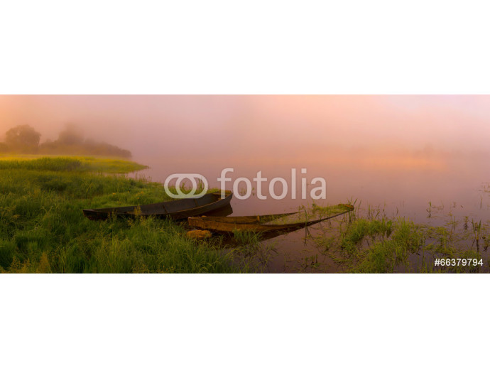 Fotomural decorativo sunrise on the river 64238