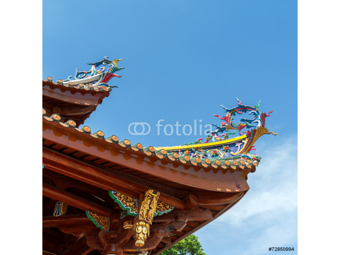 Chinese dragon statue 64238